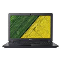 "ACER Aspire A315-51-34V8, 15.6"" HD, i3-7020U23, 4GB DDR4, 128GB SSD, NO ODD, Intel HD Graphics 620, Elinux, fekete"