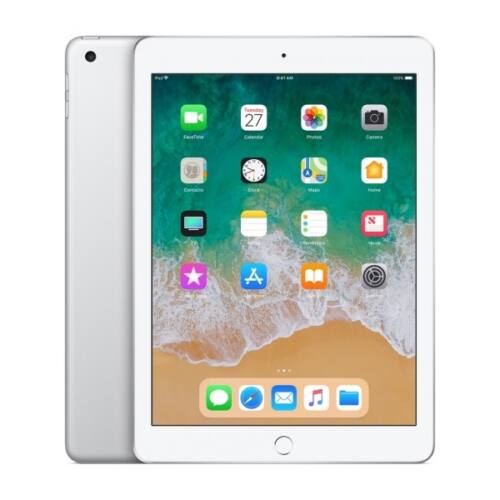 APPLE 9.7-inch, iPad 6, Cellular, 128GB - Silver (2018)