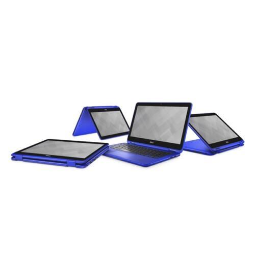 """Dell Inspiron 3168 2in1 11.6"""" HD, Intel Pentium N3710 (2.56 GHz), 4GB, 128GB Win 10 kék"""