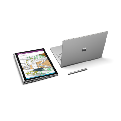 "Microsoft Surface Book 2 - 15"" - Core i7-8650U (8th Gen, GF GTX 1060 GPU w/6GB GDDR5) - 16 GB 1 TB Windows 10 Pro"