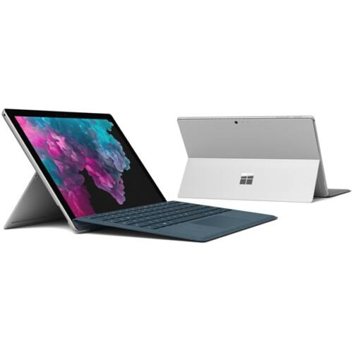"Microsoft Surface Pro 6 - 12.3"" (2736 x 1824) - Core i5 (8250U, HD 620) - 8GB RAM - 256GB SSD - Windows 10 Home, Plat"