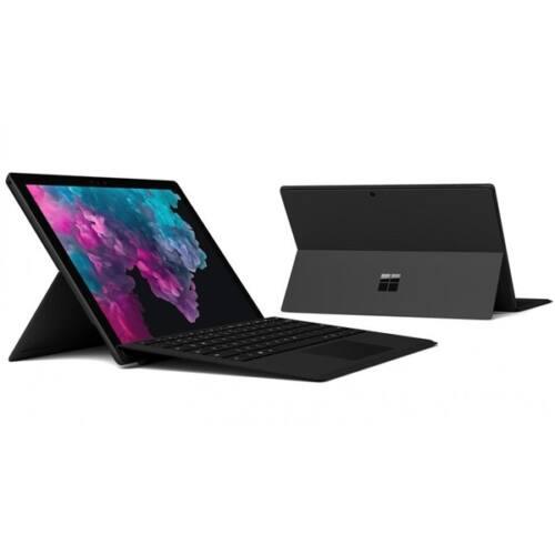 "Microsoft Surface Pro 6 - 12.3"" (2736 x 1824) - Core i7 (8650U, HD 620) - 8GB RAM - 256GB SSD - Windows 10 Pro, Blck"